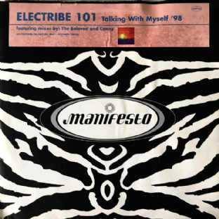 "Electribe 101 ‎- Talking With Myself '98 (12"") (Promo) (VG/G+)"
